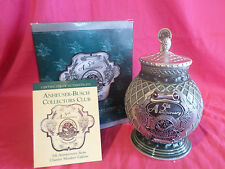 Anheuser Busch Collectors Club Cb13C 5Th Anniversary 1999 Charter Member Stein