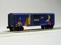 LIONEL SCOOBY DOO O GAUGE TRAIN BOX CAR cartoon shaggy velma mystery 6-85323 NEW