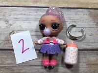 #2 LOL Surprise Doll FIGURE 8 EIGHT BABY Big Sister WINTER DISCO GLITTER GLOBE