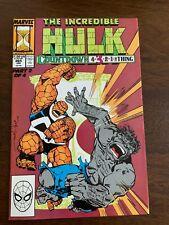 New listing Incredible Hulk #365 (Jan 1990, Marvel) Thing vs. Hulk Vf+