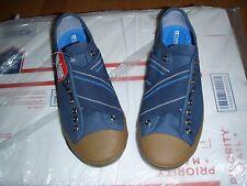 Tretorn - Skymra Canvas (Majolica Blue/Gum) womens sz 5.5 and 6 blue/brown