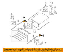 SMART OEM 08-16 Fortwo Convertible/soft Top-Catch 4517760016