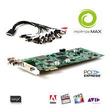MATROX Mojito MAX FullHD PCIe-Karte Encoder H264 HD SDI HDMI AVID Adobe Premiere