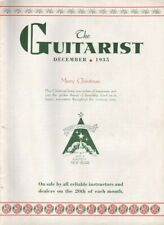1935 December - The Guitarist Magazine - Christmas Issue - Beckley & Hinton, WV