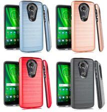 """For Motorola Moto E5 XT1920DL 5.7"""" Slim Lining Hybrid Case Phone Cover"""