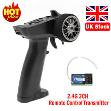2.4GHz 3 Channel 3CH Radio Remote Control RC Car/Boat Transmitter + Receiver