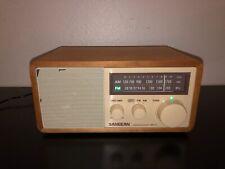 Sangean AM FM Radio WR-11 2 Bands Receiver