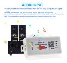 SP107E DC5V-24V Bluetooth Music LED Controller for 2812 2811 1903 LED Strip Ligh