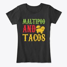 I Heart Love Maltipoo Womens Tee Shirt Pick Size Color Petite Regular