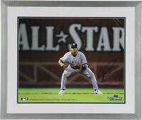 "Alex Rodriguez NY Yankees Frmd Signed 16"" x 20"" All-Star Game Fielding Photo"