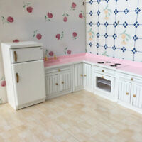 1:12 Kid Toy Doll House Home Miniature Furniture Living Rooms DIY Decor CZU