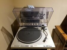 TECHNICS SL-D303 fully automatic turntable. With Sansui 771