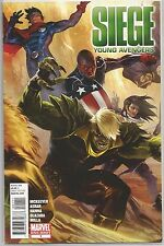 Siege #1 : Young Avengers : Marvel comic book