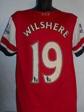 Arsenal Maglietta (2012/2014 * Wilshere 19) Grandi Da Uomo #356