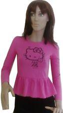 Manica Per Bambine Kitty Maglie E Hello A Lunga Magliette Camicie Oq86fwxqY