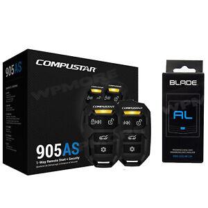 Compustar CS905 AS Remote Start Security Combo 1500-FT + BLADE AL Bypass Module