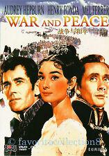War and Peace (1956) - Audrey Hepburn, Henry Fonda - DVD NEW