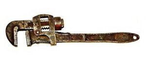"Vintage Herma Drop Forged Steel Adjustable Stillson Pipe Wrench No. 29 14"""