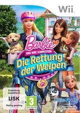 Nintendo Wii * WiiU Spiel * Barbie und ihre Schwestern: Die Rettung der Welpen *