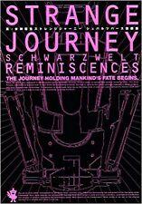 SHIN MEGAMI TENSEI Strange Journey Schwarzwelt Game Art Scenario Book DS