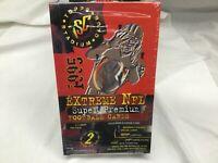 1995 Topps Stadium Club Extreme NFL Super Premium Series 2 Factory Sealed box