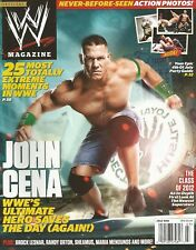 JULY 2012 WWE WRESTLING MAGAZINE JOHN CENA CHAMP IS HERE WRESTLEMANIA LEGEND