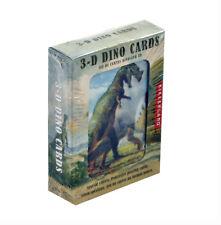 Kikkerland Design 3-d Dinosaurs - Lenticular Playing Cards