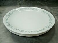 """Corning Corelle COUNTRY COTTAGE Set of 6-10 1/4"""" Dinner Plates Hearts Vines EC"""
