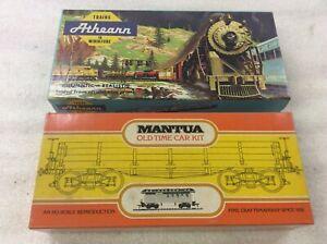 Spur H0  2 St.USA  Gueterwagen - Kit  Athearn / Mantua fur H0 Modellbahn