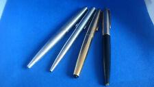 lot vintage = 3 stylos plume PARKER  45 GT + 1 stylo bille acier PARKER