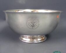 Reed & Barton Silver Plated Bowl Speaker of USHOR Seal USA 1950s