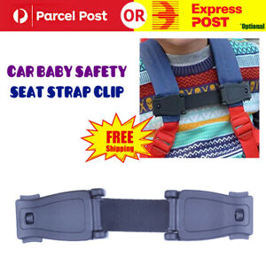 Car Baby Safety Seat Strap Child Toddler Chest Harness Stop Lock Buckle Clip