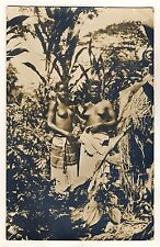 Africa young women in the Bush young women in the Bush * Vintage Ethnic Nude RPPC