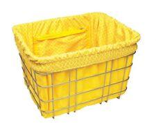 Electra Baskit Liner Yellow/Tiles Inlay für Fahrradkorb, Wende Tasche Beute Gelb
