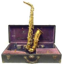 Vintage Buescher Alto Saxophone in Good Structural Condition - Make an Offer!