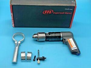 "Ingersoll Rand 7AQST8 Pistol Style Keyed Air Drill, 1/2"" Chuck, 90PSI, 0.75HP"