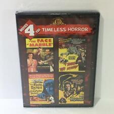 Timeless Horror: Marble Face / I Bury the Living / Snake Woman / Four Skulls DVD