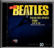 The Beatles CD - Live In Paris June 1965 - Afternoon and Evening Concerts