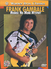 GUITAR DVD Frank Gambale Modes No More Mystery Lesson