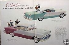 1956 Oldsmobile Olds 88 Holiday 98 Deluxe ORIGINAL Ad  C MY STORE  5+= FREE SHIP