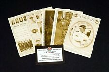 RMS Titanic White Star Line Set of 32 Sepia Assorted Postcards