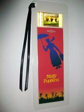 MARY POPPINS Disney Movie Memorabilia Film Cell Bookmark Collectible