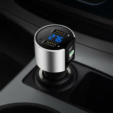 Best 3.4A Dual USB Wireless Bluetooth MP3 Radio Player Charger FM Transmitter