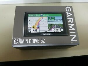 "Garmin Drive 52 5"" Automotive Mountable GPS 010-02036-06 Brand New"