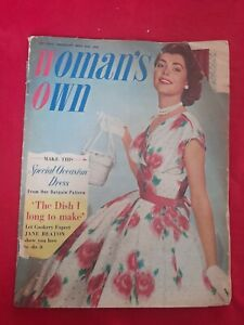 Vintage Woman's Own Magazine Home Lifestyle Fashion ~May 24th 1956