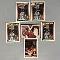 MICHAEL JORDAN LOT (6), 92/93 Topps + ALL-STAR, 93/94 UD SP-4 Chicago BULLS GOAT