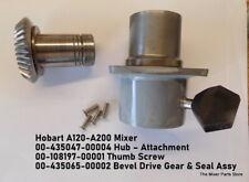 Hobart A120 A200 Mixer 00 435047 00004 Hub Attachment 00 435065 00002 Bevel Dri
