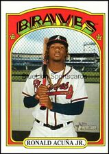 2021 Topps Heritage Atlanta Braves Base Card Singles - You Pick
