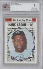1970 Topps Hank Aaron #462 BVG 7 HOF