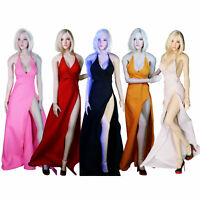 """1/6 Female Evening Dress Clothes w/ Shoes for 12"""" CY Girls TBleague Figure Body"""